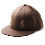 Collective Fitted Cap by Flexfit - Brown cover