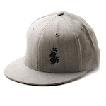 Collective Fitted Cap by Flexfit - Grey cover