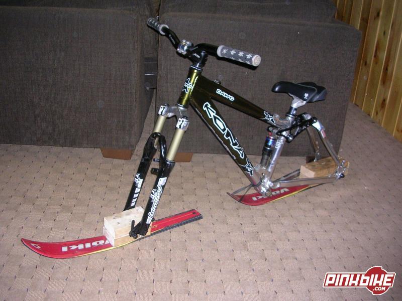 Ski Bike For Sale >> Bustedspoke Com View Topic Ski Bike